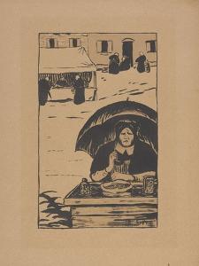 La Marchande Ambulante (The Street Vendor) 1895 by Paul Serusier