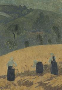 La Moisson by Paul Serusier