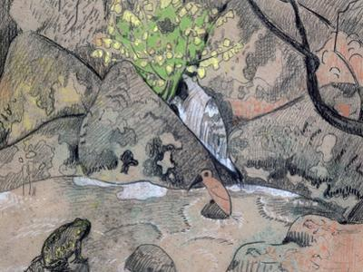 Landscape with a Bird and a Toad, C1883-1927