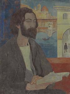 Portrait of Emile Bernard in Florence, 1893 by Paul Serusier