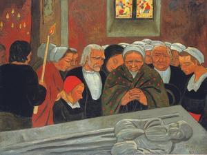 Prayer to Saint Herbot, or the Pardon, 1893 by Paul Serusier