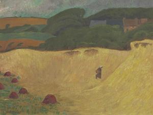 The Beach of Les Grands Sables at Le Pouldu, 1890 by Paul Serusier