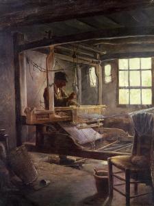 The Breton Weaver, 1888 by Paul Serusier