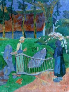 The Flowered Gate, 1889 by Paul Serusier