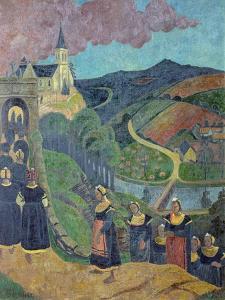 The Pardon of Notre-Dame-Des-Portes at Chateauneuf-Du-Faou, c.1894 by Paul Serusier