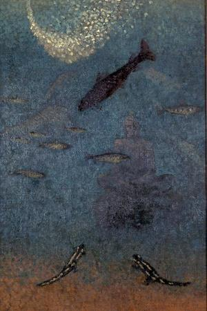 The Submerged Buddha, c.1910