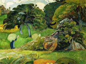 The Two Washerwomen, C. 1892 by Paul Serusier