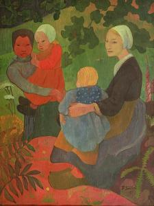 The Young Mothers, 1891 by Paul Serusier