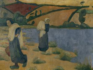 Washerwomen on the Laita, c.1892 by Paul Serusier
