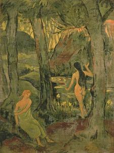 Young Women Bathing, 1892 by Paul Serusier