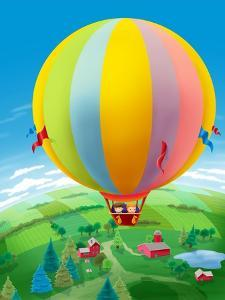 Hot Air Balloon - Humpty Dumpty by Paul Sharpe
