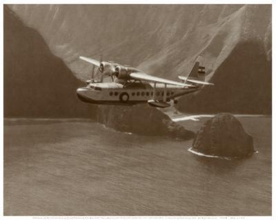 Inter-Island Airways, Sikorsky S-43, North Shore, Molokai, Hawaii, 1937