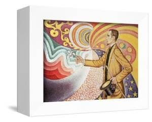 Against the Enamel of Background Rhythmic with Beats and Angels by Paul Signac