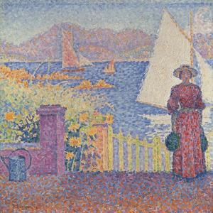 At St. Tropez by Paul Signac