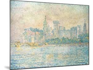 Avignon, Morning by Paul Signac