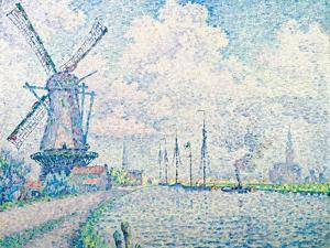 Canal of Overschie by Paul Signac