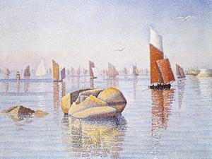 Concarneau, Quiet Morning, 1891 by Paul Signac