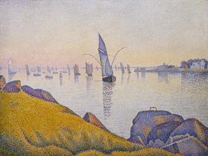 Evening Calm, Concarneau, Opus 220 (Allegro Maestoso), 1891 by Paul Signac
