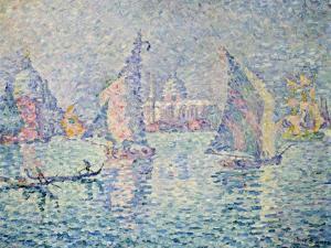 La Brume Verte, Venise, 1904 by Paul Signac