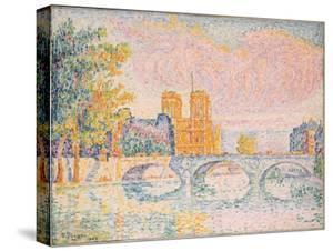 La Cité. Paris, 1934 by Paul Signac