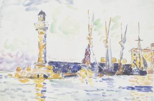La Phare by Paul Signac