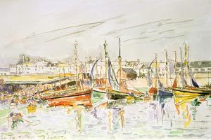 La Turballe, 1930 by Paul Signac