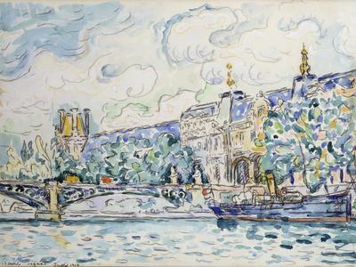 Le Palais Du Louvre, 1910