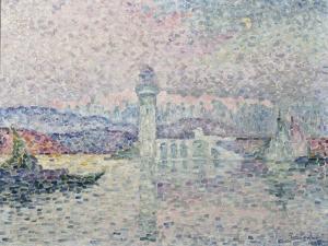 Le Phare d'Antibes by Paul Signac