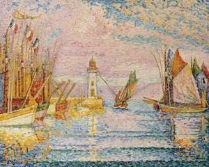 Lighthouse at Groix, 1925 by Paul Signac