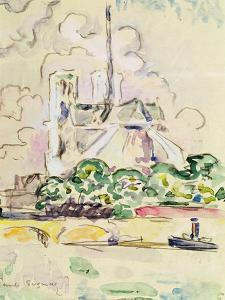 Notre-Dame, 1925 by Paul Signac