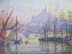 Notre-Dame-de-la-Garde (La Bonne-Mère), Marseilles, 1905-6 by Paul Signac