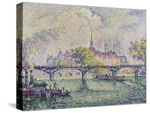 Paris, View of Ile De La Cité, 1913 by Paul Signac