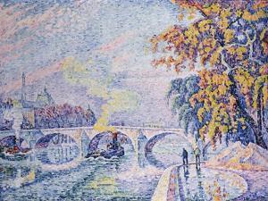 Pont Royal, Autumn; Pont Royal, Automne, 1930 by Paul Signac