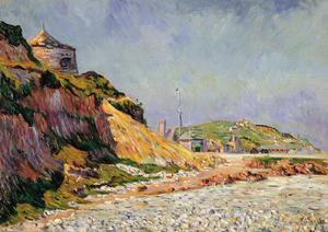 Port-En-Bessin, the Beach by Paul Signac