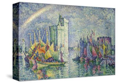 Rainbow at the Port of La Rochelle; Arc-En-Ciel, La Rochelle, Le Port, 1912
