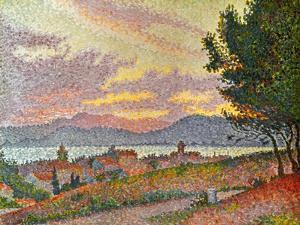 Signac: St Tropez, 1896 by Paul Signac