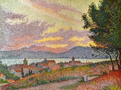 Signac: St Tropez, 1896