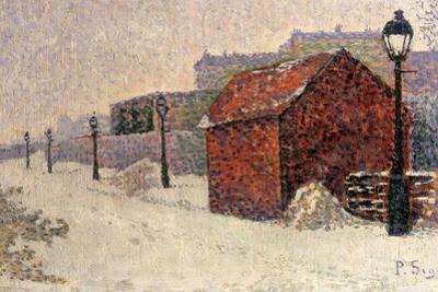 Snow, Butte Montmartre, 1887