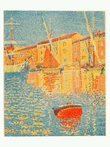 The Buoy (La Bouee), 1894 by Paul Signac
