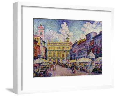 The Herb Market, Verona; La Place Aux Herbes, Verone