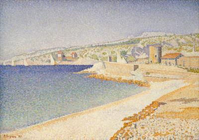 The Jetty at Cassis, Opus 198, 1889