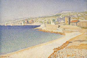 The Jetty at Cassis by Paul Signac