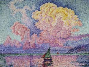 The Pink Cloud (Antibes), 1916 by Paul Signac