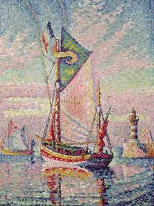The Port at Concarneau by Paul Signac