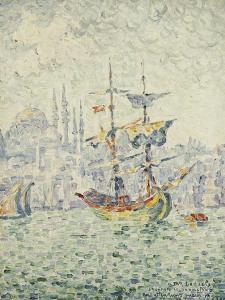 The Port of Constantinople; Le Port de Constantinople, 1907 by Paul Signac