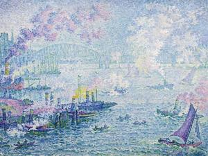 The Port of Rotterdam, 1907 by Paul Signac