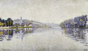 The Seine at Herblay, c.1889 by Paul Signac