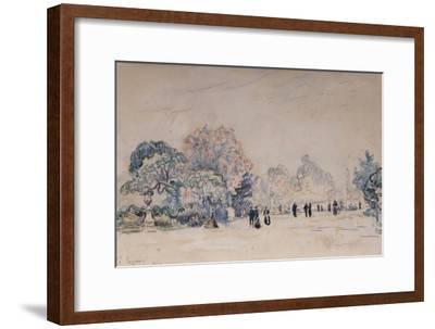 The Tuileries, Paris, 1910