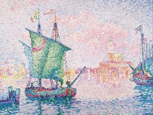 Venice, the Pink Cloud, 1909 by Paul Signac