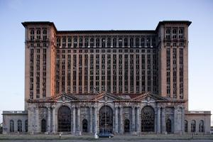 Abandoned Michigan Central Station by Paul Souders